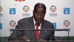 Mugabe Declares Sanctions Impediment to Climate Change Fight