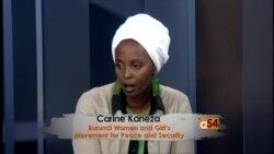 Carine Kaneza on the Burundi crisis