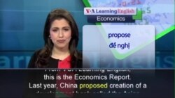 Anh ngữ đặc biệt: Concerns for Chinese Development Bank (VOA)