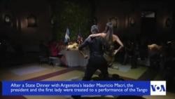 Obamas Tango in Argentina