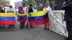 """""""Protestamos para denunciar la situación de nuestro país"""""""