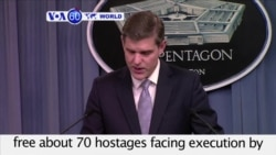 VOA60 World - US-Iraqi Raid Frees Islamic State Hostages; 1 American Killed