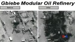 2014-09-26 美國之音視頻新聞: 美國與中東國家空襲伊斯蘭國石油設施