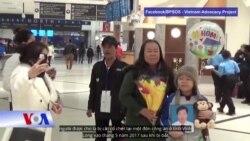 Anh em của tín đồ Hòa Hảo Nguyễn Hữu Tấn đến Mỹ tị nạn