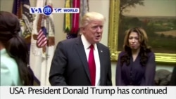 VOA60 World - Trump Defends Immigration Ban