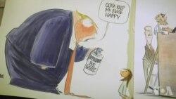 引发反响的社论漫画家安·泰尔内斯