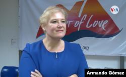 Tania Amador de Corner of Love dice que ha conversado con muchos refugiados que dicen estar desesperado por la falta de empleos en Costa Rica. [Foto: Armando Gómez/VOA]