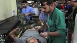 Suriye'de Yaralıların Durumu da Ayrı Bir Krize İşaret Ediyor