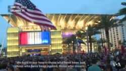 Veillée en solidarité avec les familles des victimes de l'attaque d'Orlando (vidéo)