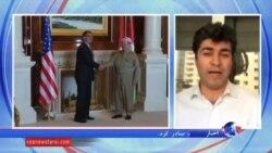 وعده وزير دفاع آمريكا در اربیل برای کمک به پیشمرگه های کرد