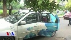 Hindistan'da Elektrikli Taksi