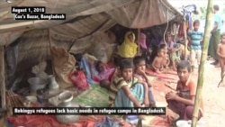 Rights Groups: Safe Return Home Only Hope for Rohingya Refugees