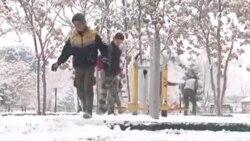 برف کابل