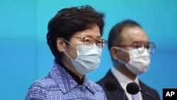 香港特首林鄭月娥。