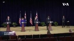 SAD, Britanija i Australija sklopile novi sigurnosni sporazum