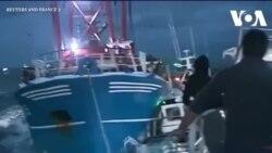 Ngư dân Pháp, Anh đụng độ vì sò điệp