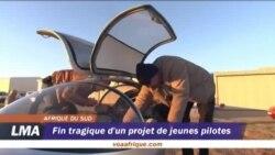 Fin tragique d'un project de jeunes pilotes