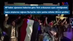 Rejim yanlısı güçler hala Afrin'de iddiası