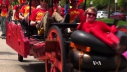 Kinetic Sculpture Race Has Different Rules