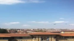 Istanbul harbiy havo yo'llari 2013-08-30 - Muxlislar olgan video