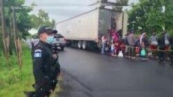 Guatemala Sove Plis Pase 100 Migran Ayisyen Abandone nan Yon Kamyon