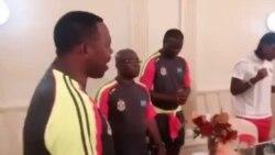 L'équipe de la RDC se prépare à affronter le Maroc (vidéo)