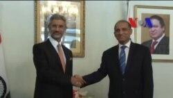 بھارتی سیکرٹری خارجہ کی پاکستانی ہم منصب سے ملاقات