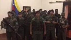 Militares venezolanos se declaran en rebeldía en estado Carabobo