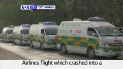 VOA60 World PM - Pakistan: Investigators begin to search for the cause of plane crash that killed 47