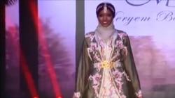 美国万花筒:传统穆斯林头巾走向主流时装