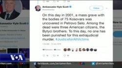 Kosovë, thirrje për dënimin e kryesve të krimeve të luftës