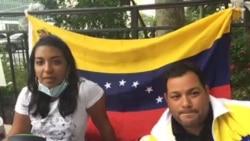 Vigilia de venezolanos en la ONU