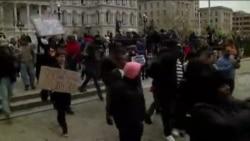 Протести во Балтимор