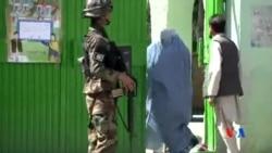 2014-06-15 美國之音視頻新聞: 阿富汗總統決選點票工作展開
