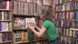 کتابفروشی دسته دوم در ویرجینیا