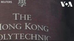 Hong Kong: Cháy trường Đại học Bách Khoa