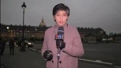 مراسم یادبود قربانیان حملات تروریستی پاریس برگزار شد