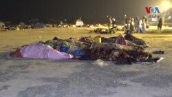 'آزادی مارچ' کے شرکا نے ملتان میں رات کیسے گزاری؟