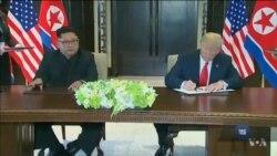 Світ аналізує історичний самміт у Сінгапурі – зустріч між Дональдом Трампом і Кім Чен Ином. Відео
