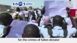 VOA60 Africa - Gambians demand swift justice for the crimes of fallen dictator Yahya Jammeh's regime
