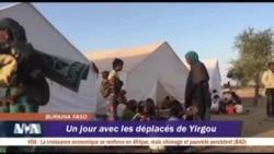 Un jour avec les déplacés de Yirgou