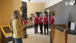 Співочі валентинки: барбершоп-квартет, який доправляє любов у Вашингтоні. Відео