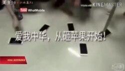 Người Trung Quốc 'đập iPhone' sau phán quyết biển Đông