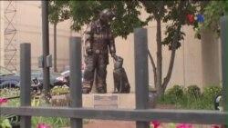 Đài tưởng niệm các chú khuyển điều tra hỏa hoạn