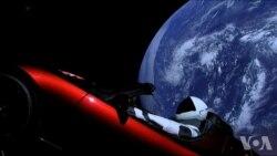 民间大推力火箭升空 SpaceX庆祝划时代成功