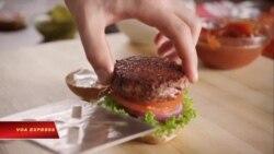 Bánh Hamburger chay