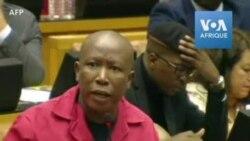 Les députés de l'EFF perturbent le discours annuel de Ramaphosa
