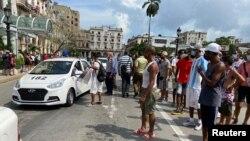 Гавана, Куба. 11 июля 2021 г.