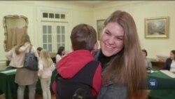 «Майбутнє залежить лише від нас». Що кажуть українці на виборчій дільниці у Вашингтоні. Відео