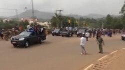 Les Lions Indomptables avant la réception avec le président Paul Biya à Yaoundé (vidéo)